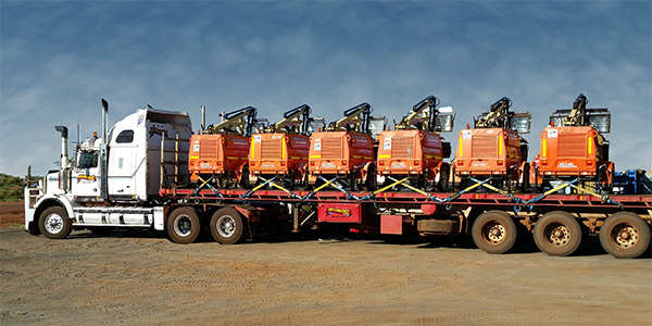 Access Equipment Hire transporting plant