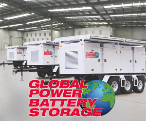 global power battery storage feature